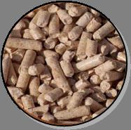Sonic – Biomasse forestière avec granules de bois