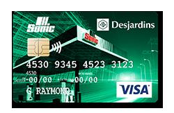 Carte de crédit personnelle Sonic